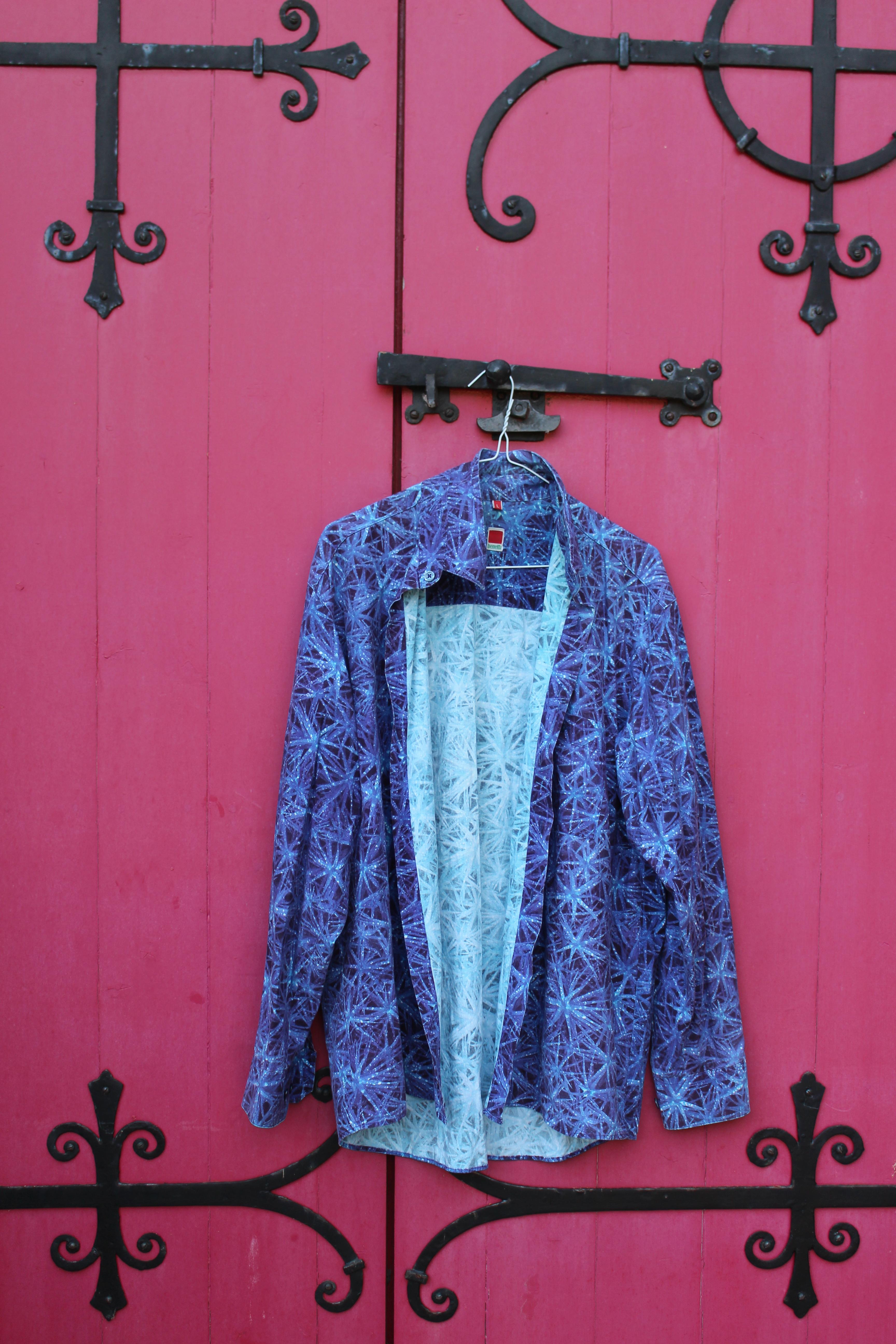 Benetti purple blue blend shirt, bought somewhere in Aachen