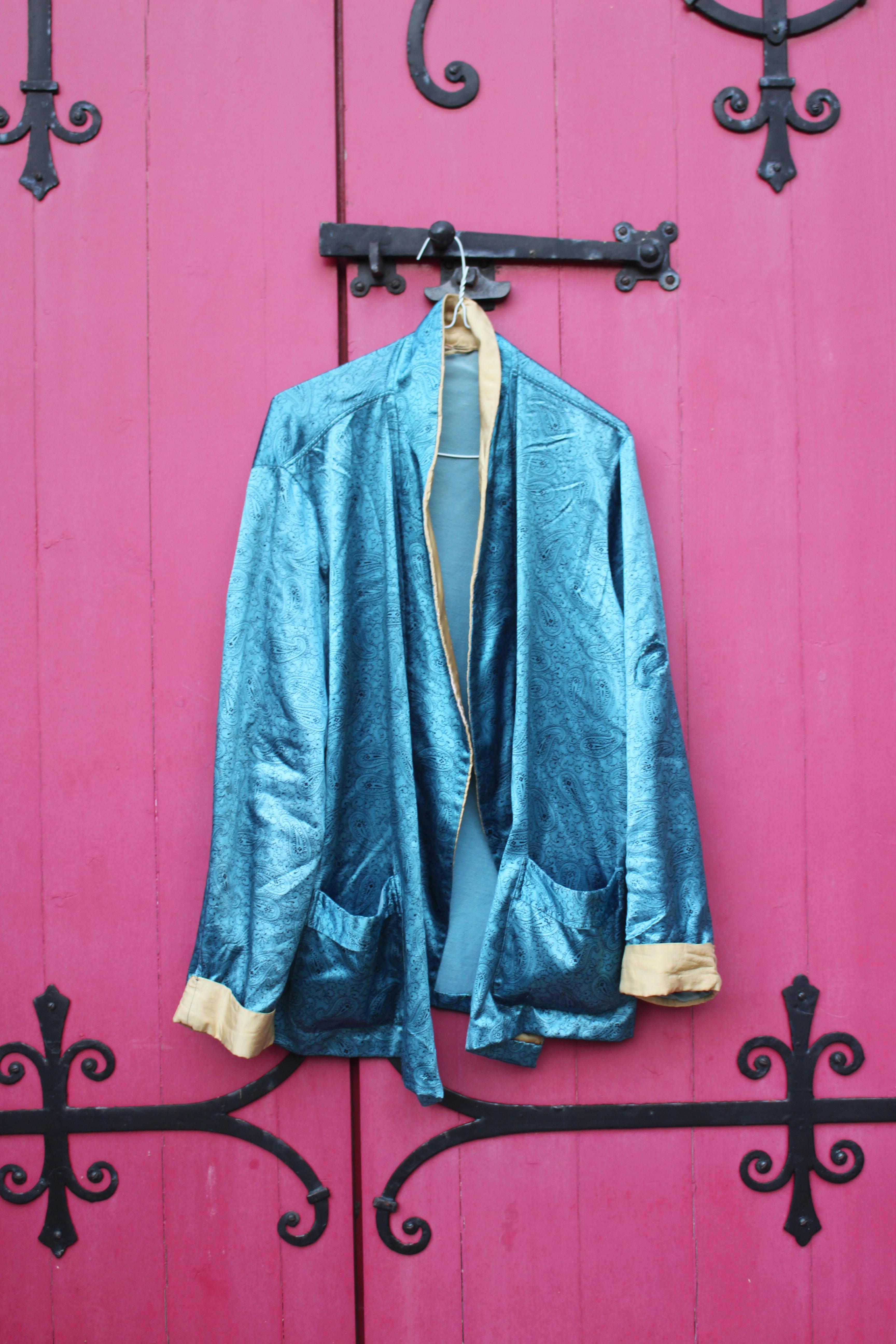 Blue paisley kimono, from Unicorn, 5 Ship Street, Oxford