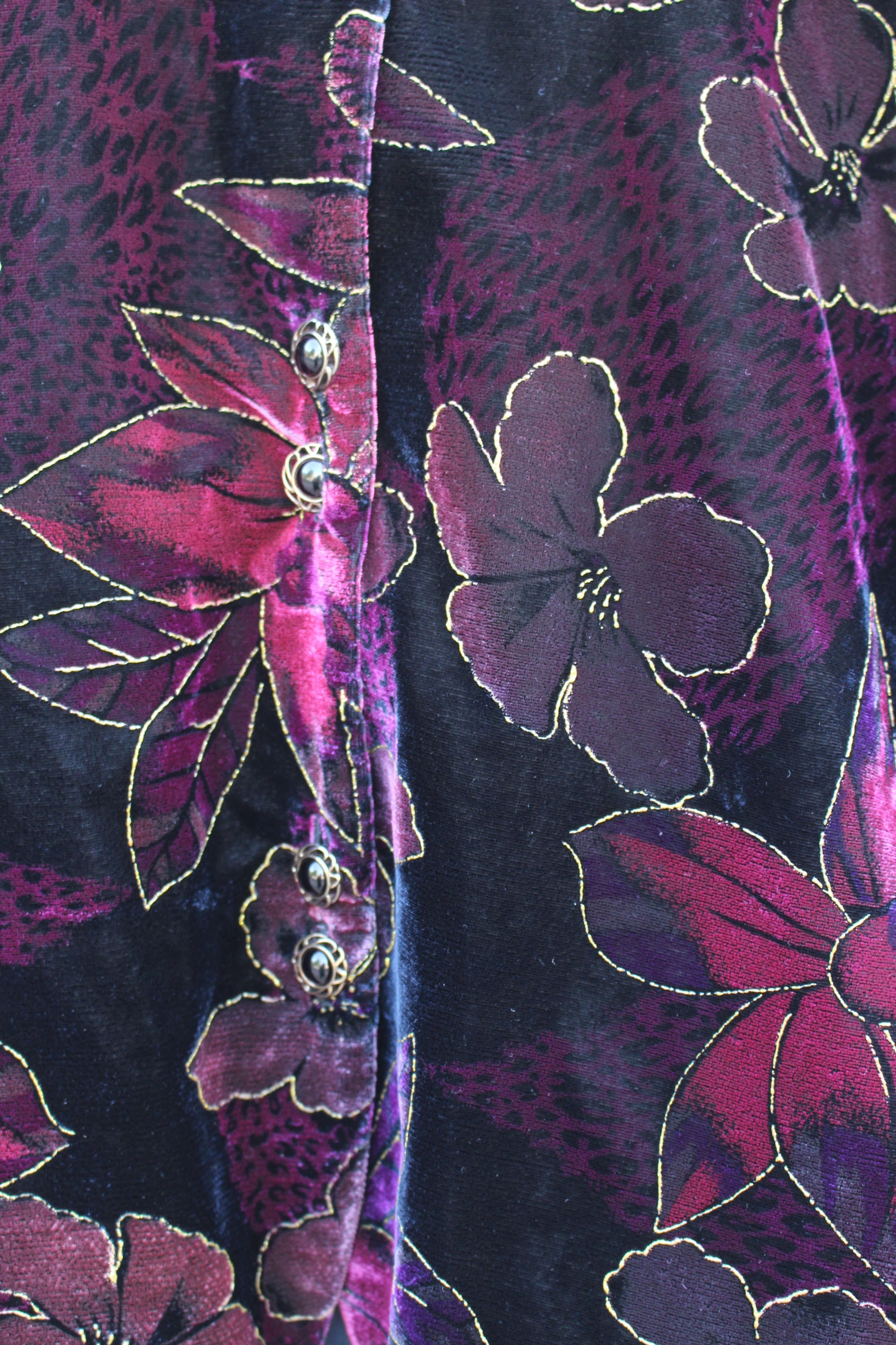 Cropped velvet jacket II, from Unicorn, 5 Ship Street, Oxford
