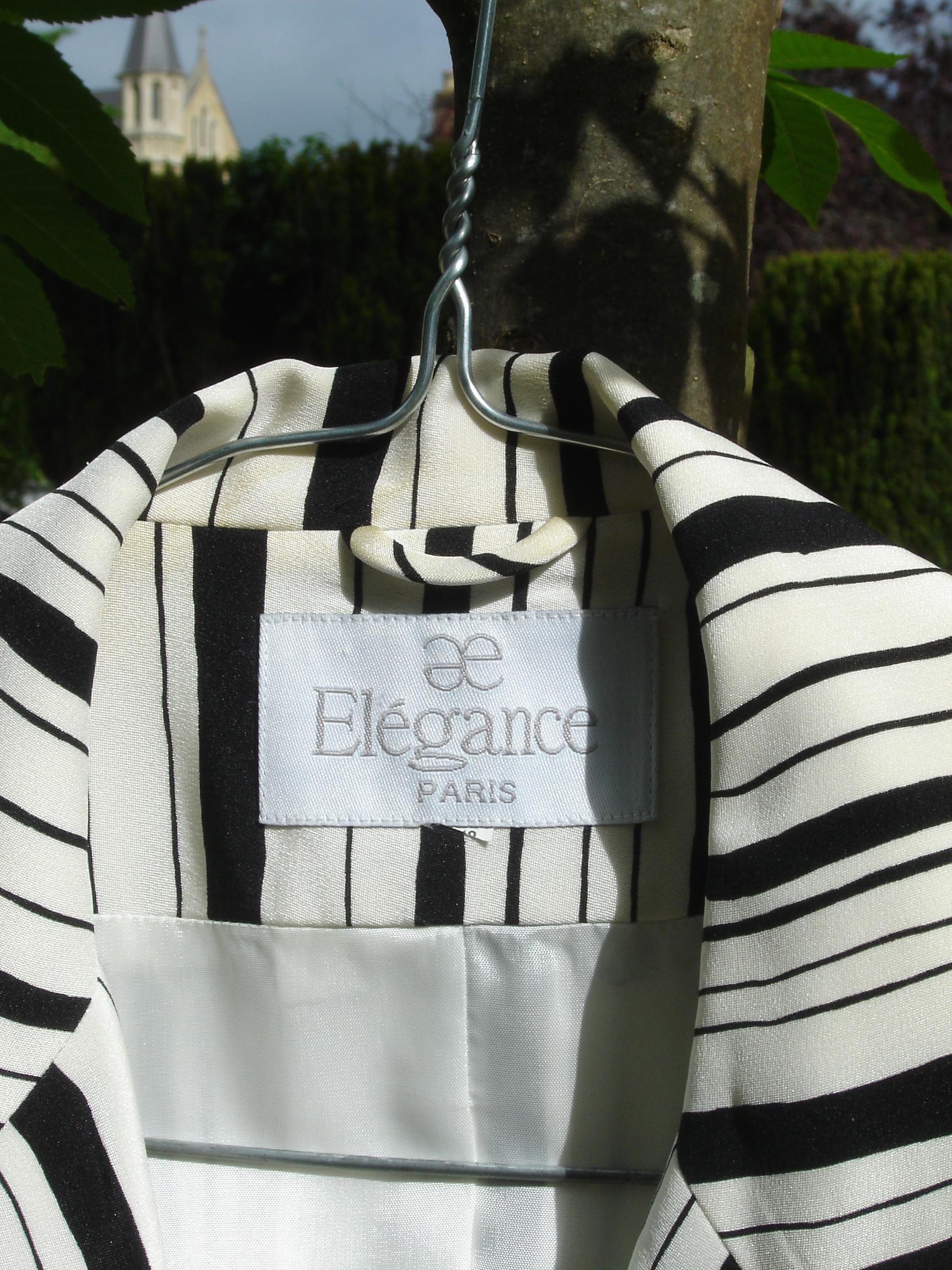 Elegance printed jacket
