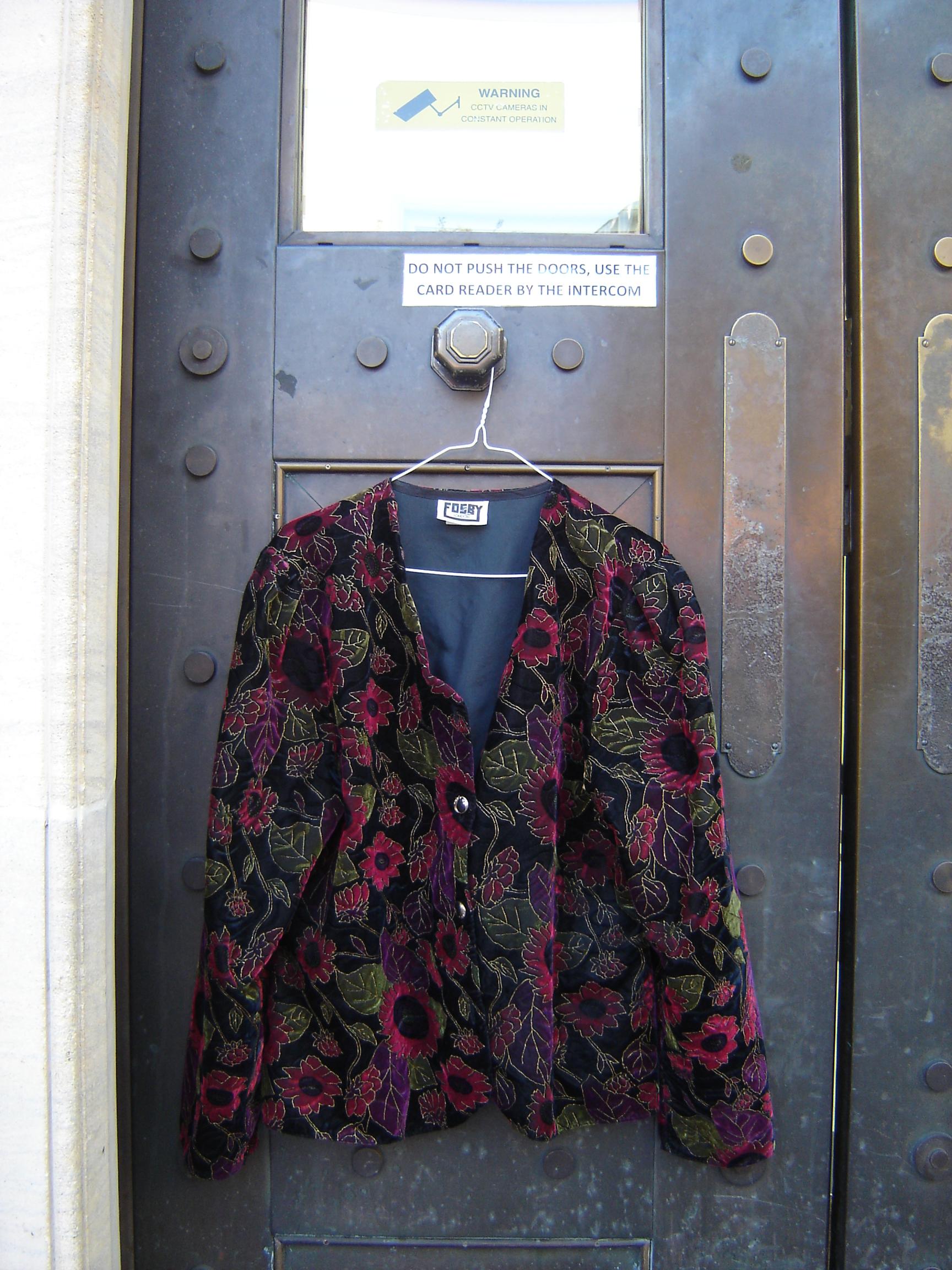 Fosby multicoloured velvet jacket, in Unicorn, 5 Ship Street, Oxford
