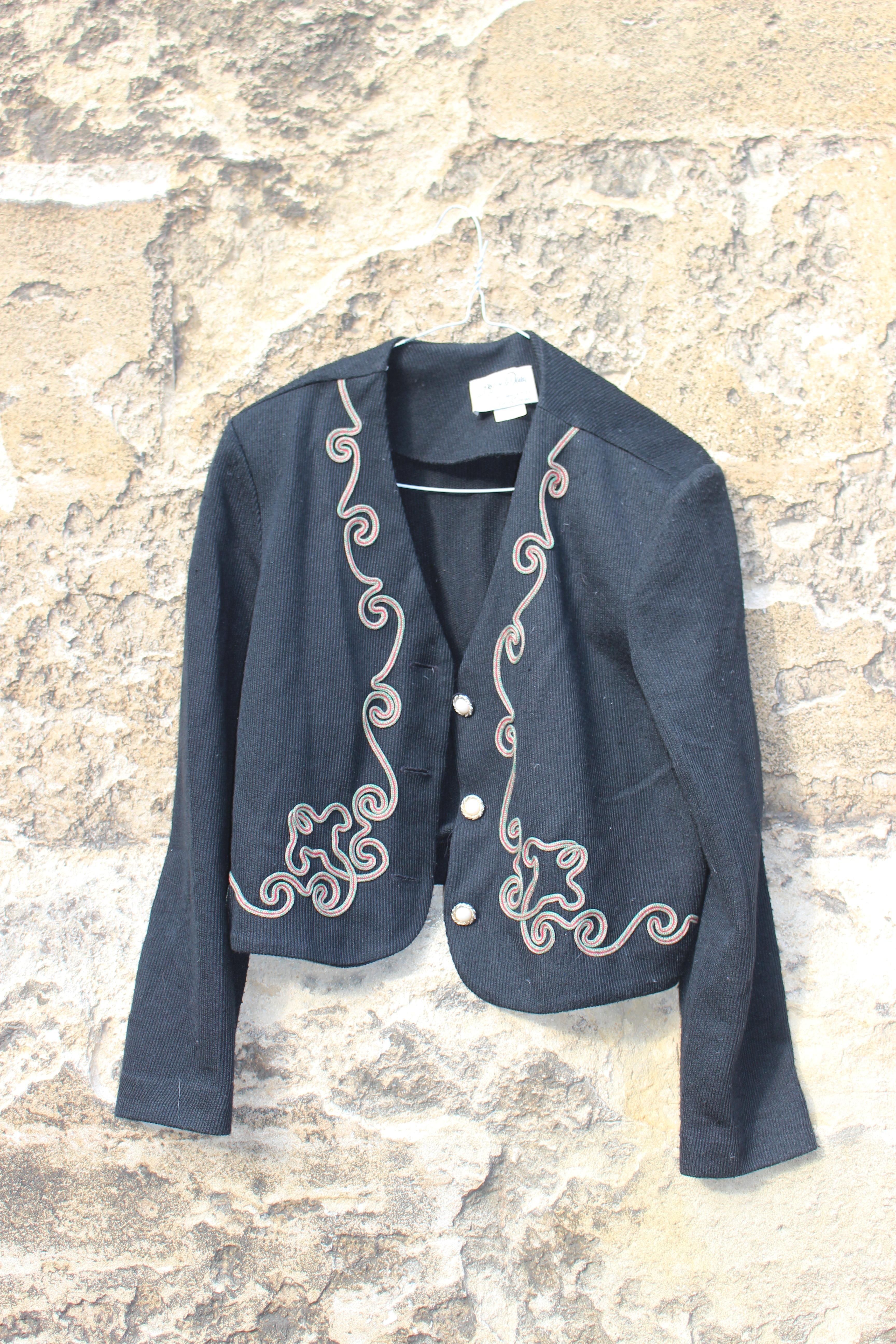 Jeffrey & Dara black braided top, from Unicorn, 5 Ship Street, Oxford