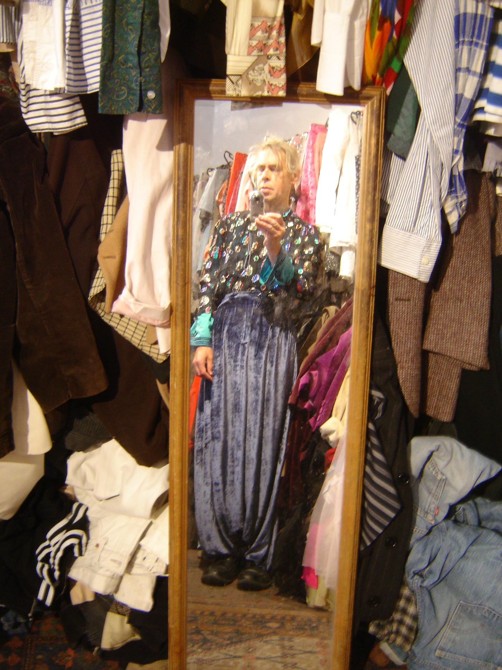 Ossie Clark sparkly Klimt top, from Unicorn, 5 Ship Street, Oxford