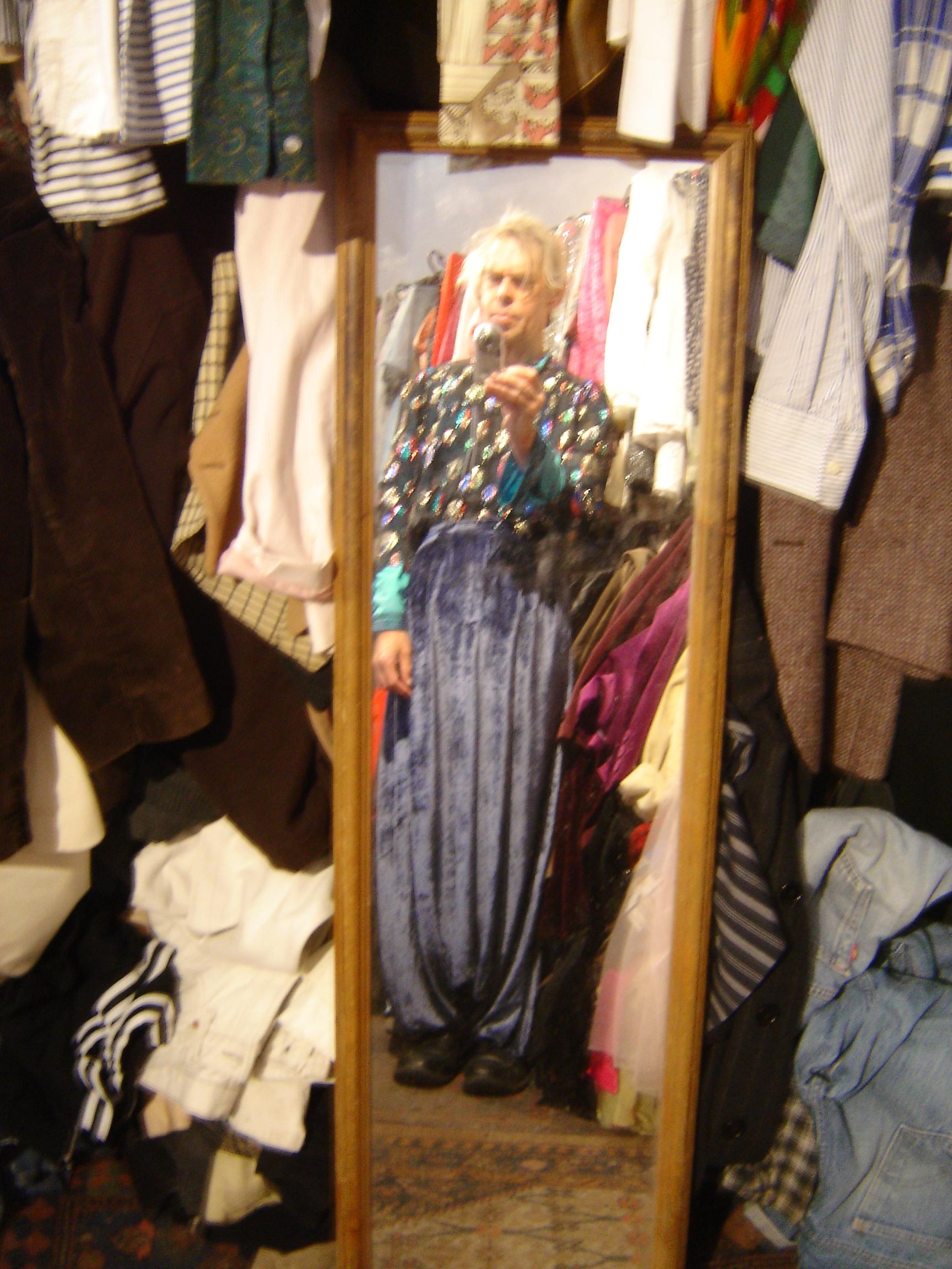 Ossie Clark sparkly Klimt top