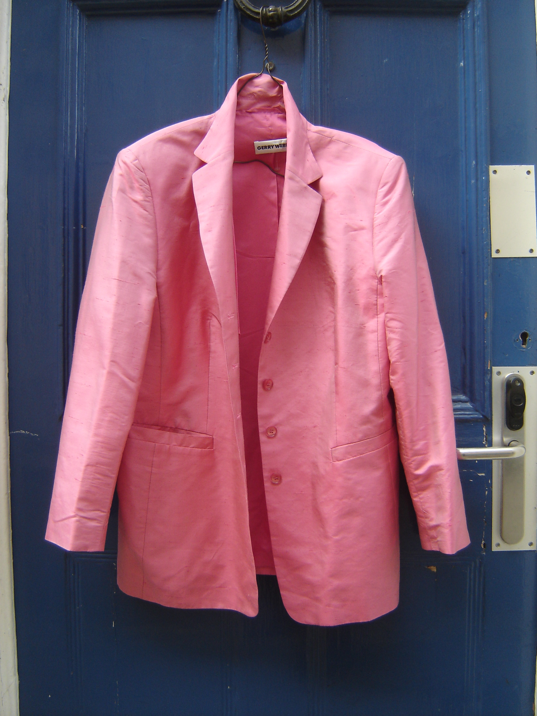 Gerry Weber pink silk jacket
