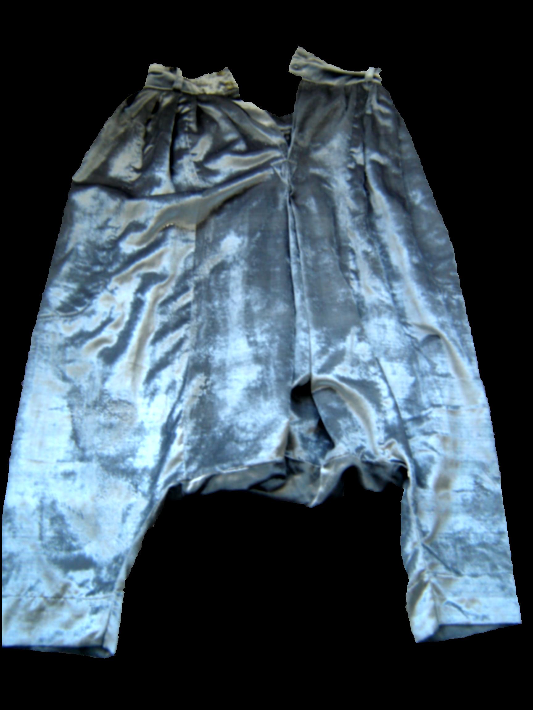 Silver velvet Moroccan qandrissi