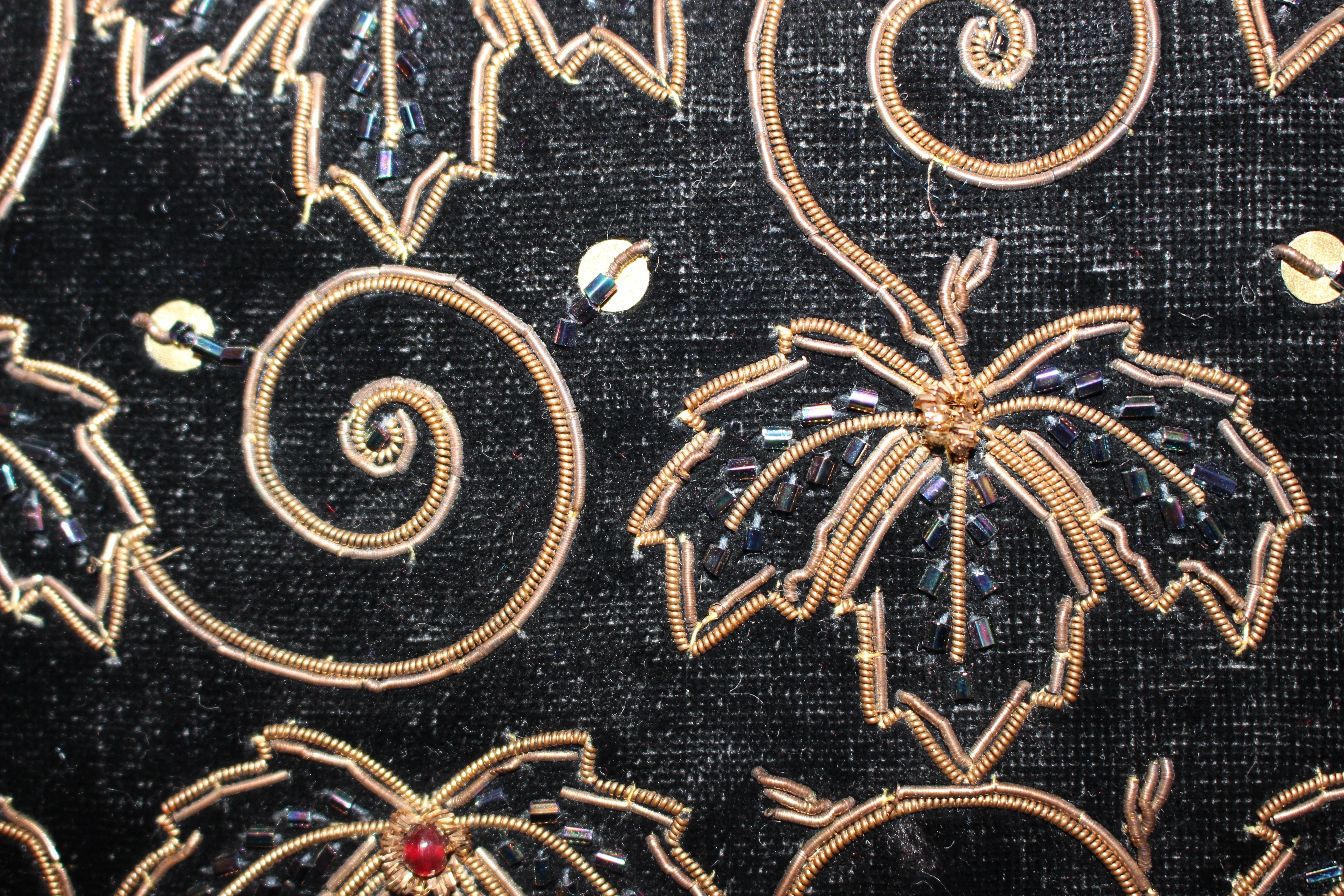 Velvet evening bag, from Unicorn, 5 Ship Street, Oxford