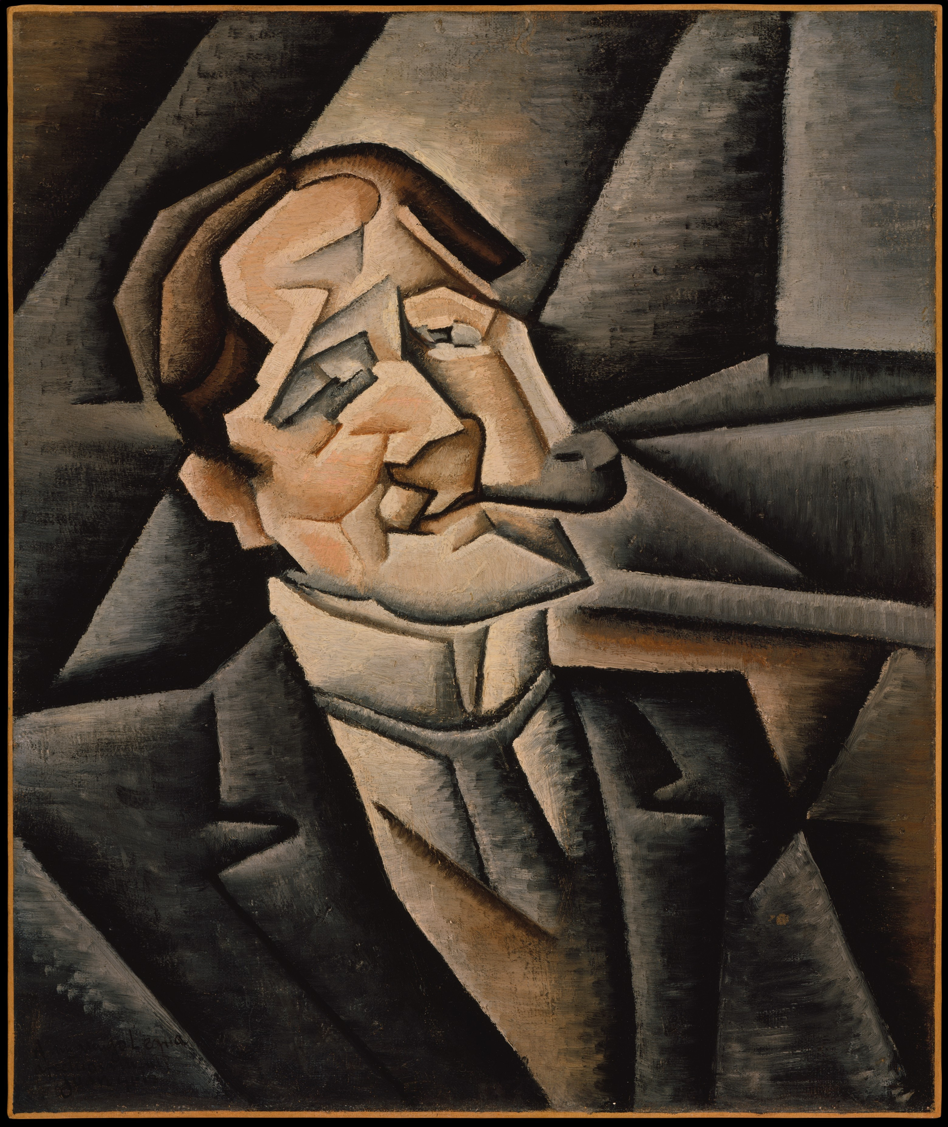 The painting 'Juan Legua' by Juan Gris