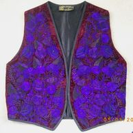 Artesania Pop Wuh embroidered waistcoat