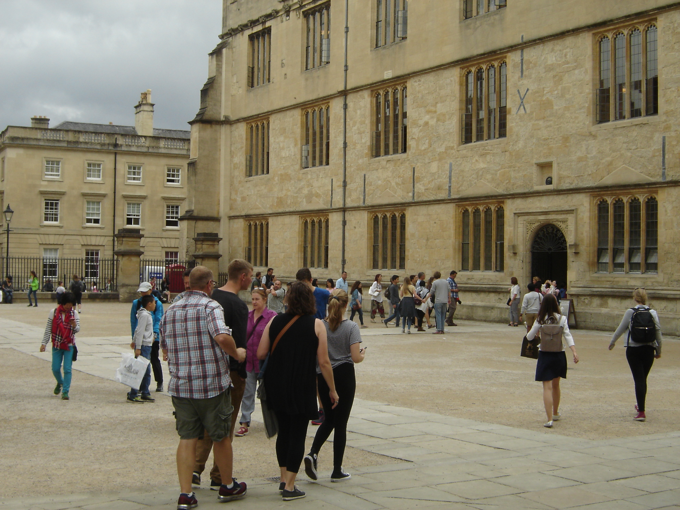 Drab people by Bodleian, Oxford