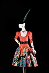 Thumbnail showing one of Yves Saint-Laurent's 'Homage to Pablo Picasso dresses'