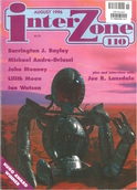 Cover of Interzone 110, August 1996.