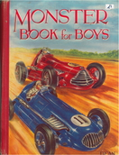 Cover of the Monster Book for Boys, possibly 1954