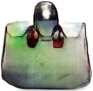Screenshot of a handbag designed by Christopher Hesse's pix2pix page.