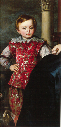 'Portrait of the Marchioness Brignole-Sale with her Eldest