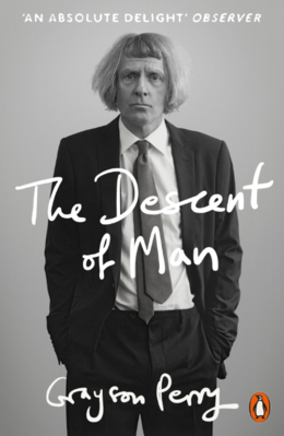 Cover of Grayson Perry's book 'The Descent of Man'